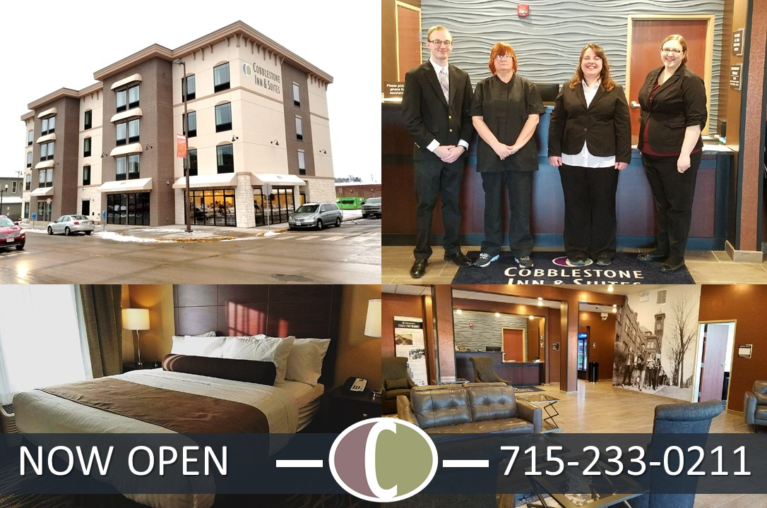 Cobblestone Inn & Suites at UW-Stout Downtown Menomonie